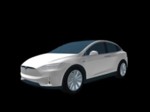 Roblox Greenville Tesla Model X Tesla Model X Preview Roblox Greenville Beta Youtube