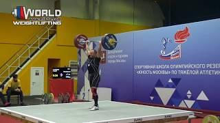 СТОЛЯРОВ/STOLYAROV(М-40.85) 80-87х-87х/112-118-122. Russian Masters Cup 14-18.11.2018/Moscow.