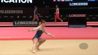 PASEKA Maria (RUS) - 2015 Artistic Worlds - Qualifications Floor Exercise