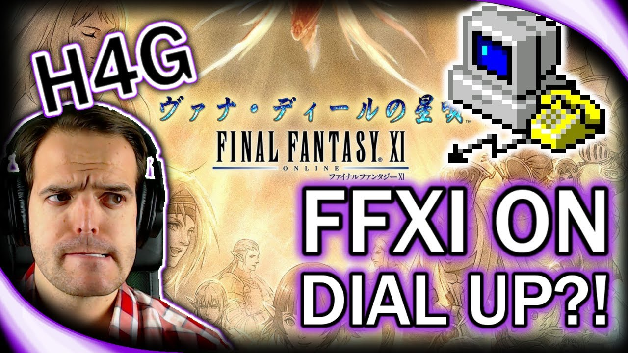 Final Fantasy XI in 2017 - Remembering Dial Up and Camping With Lag