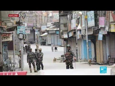 """Exclusif : au Cachemire, le difficile quotidien d'une population """"sous blackout"""""""