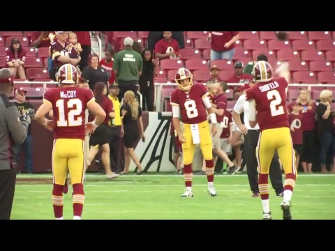 Redskins vs Packers LIVE Pregame Show