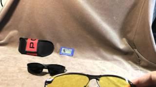 Обзор обалденных солнцезащитных очков из Китая: копия Police и желтые с поляризацией.