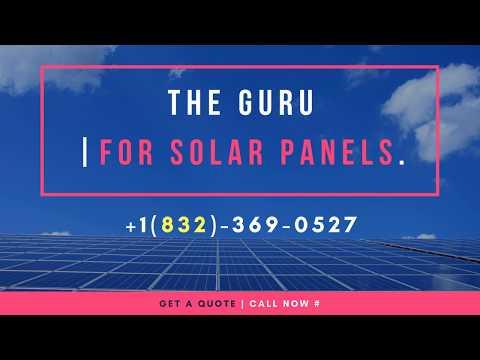 The GURU +1(832)-369-0527 | Solar Panel Installation Denver