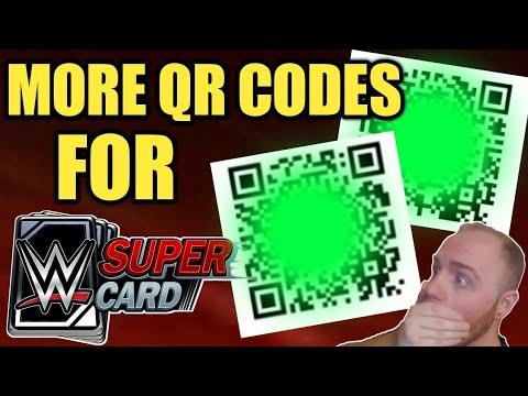 wwe supercard qr codes april 2019