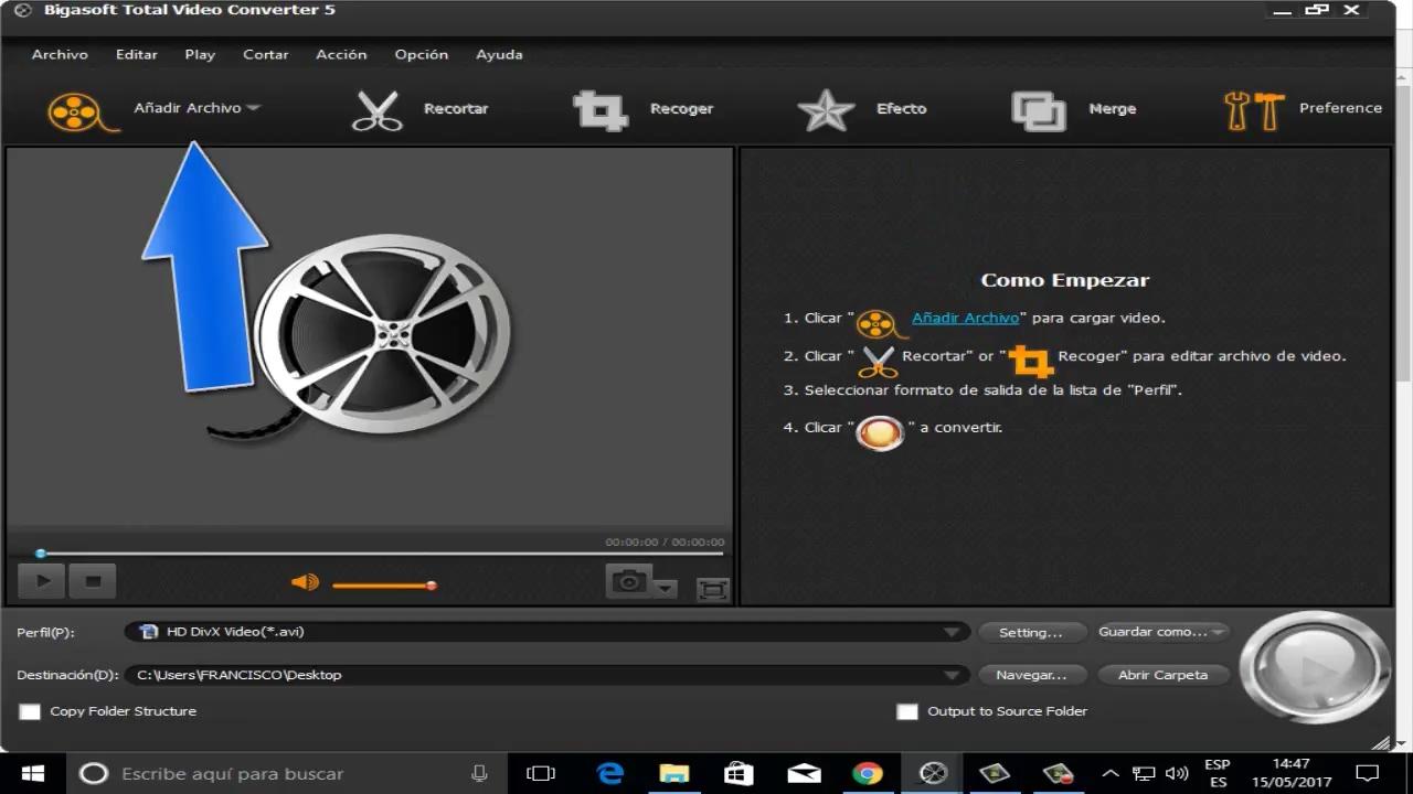 Bigasoft total video converter free