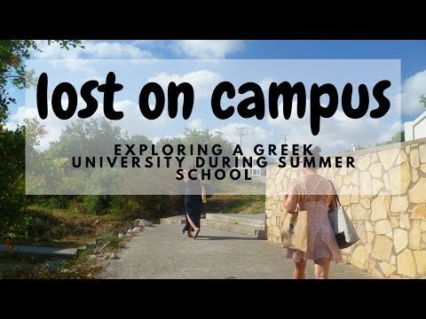 Lost on Campus during Summer Holidays