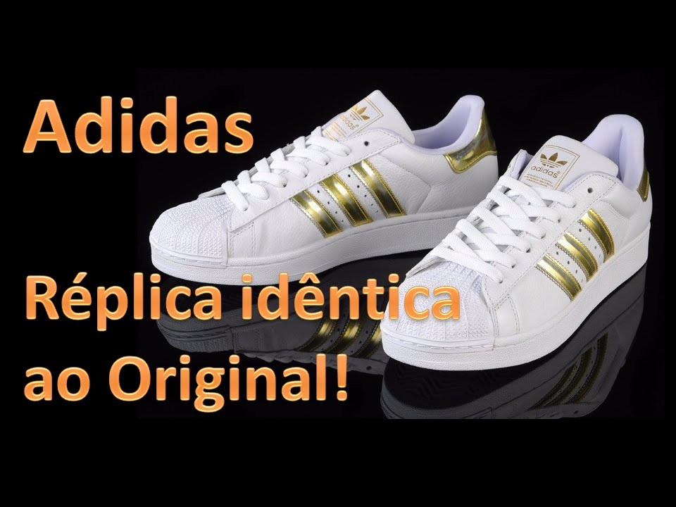 adidas superstar replica e original