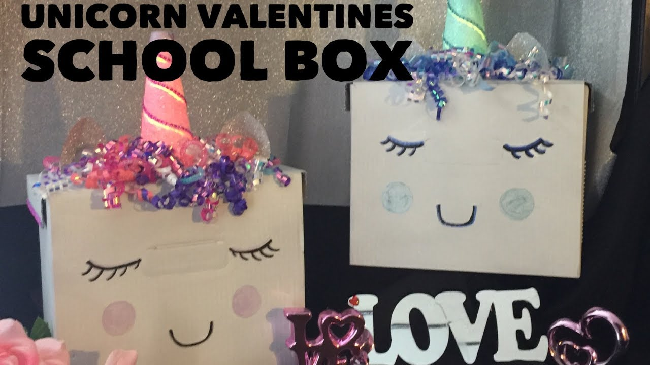 Light Up Unicorn Valentines Day Box Youtube