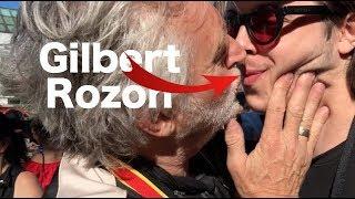 J'AI EMBRASSÉ GILBERT ROZON À #JPA (pas des jokes)