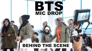 BTS - MIC DROP - Behind The Scene Part 1 - Gen Halilintar