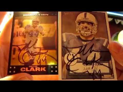 TTM Autograph - Dallas Clark - Colts Tight End