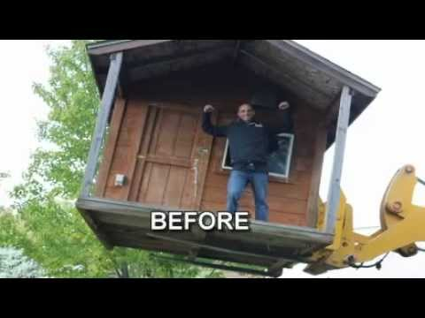 ReVibe | How To Turn An Old Shed Into An Outdoor Getaway   YouTube