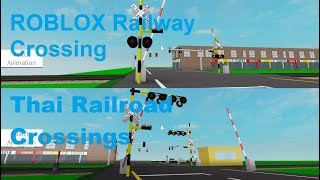ROBLOX Thai Railroad Crossings Part One