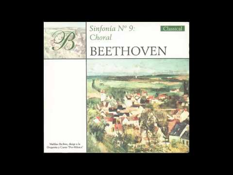 Sinfonía no 9 en re menor, op. 125 Choral - Finale Presto - Allegro Assai Oda a la Alegria