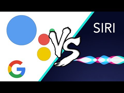 Siri VS Google Assistant on the iPhone! (2017)