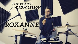 The Police - Roxanne Drum Cover