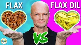 Flaxseed vs Flaxseed Oil (There is a big difference) - Dr Sten Ekberg Wellness For Life
