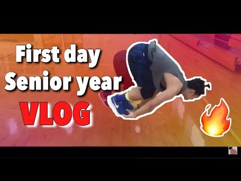FIRST DAY OF SCHOOL VLOG 2017( LIT ) East Chapel Hill High School