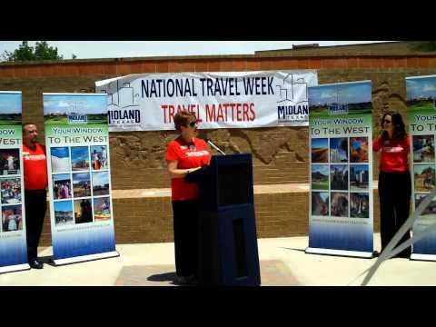 Travel Rally4, National Tourism Week, Midland, Texas