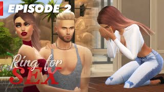 Tu dégages, la porte est là bas ! - EPISODE 2 (Ring For Sex) SIMS 4