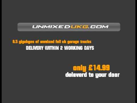 over 8.5 gig unmixed uk garage mp3 oldskool full lenth mp3's