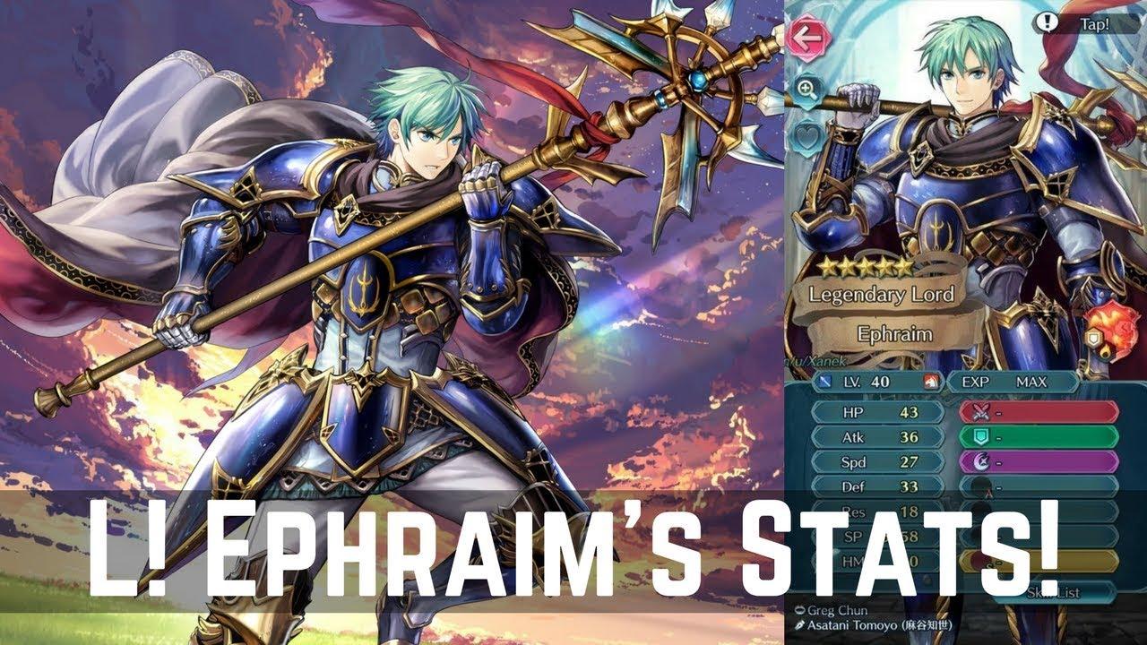 l ephraim is good legendary hero ephraim s stats released feh