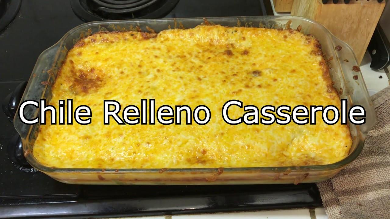 Keto Recipe Low Carb Chile Relleno Casserole Youtube