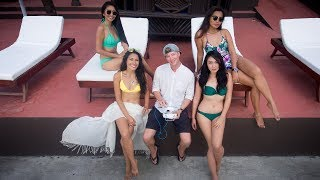 Lucky Foreigner With Filipina BEAUTY QUEENS