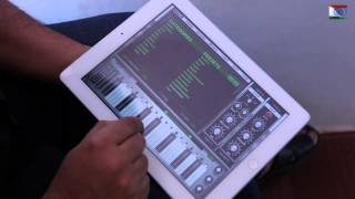Jana Gana Mana - Indian National Anthem performed on iPad - Navneeth Sundar - Animoog App