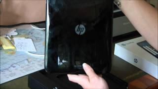 Test et avis HP TouchPad - Déballage