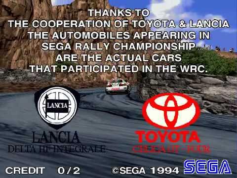 Model 2 Emulator Sega Rally Championship Demo