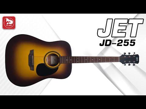 Акустическая гитара Jet JD255 (недорогой дредноут)