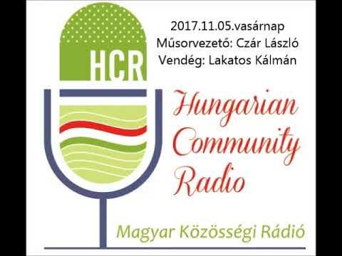 Magyar Kozossegi Radio Adelaide 20171105 Czar Laszlo