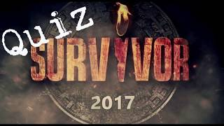 Quiz: Survivor Greece 2017 - Ψηφίστε τον μεγάλο νικητή || Νικητής του Survivor ?
