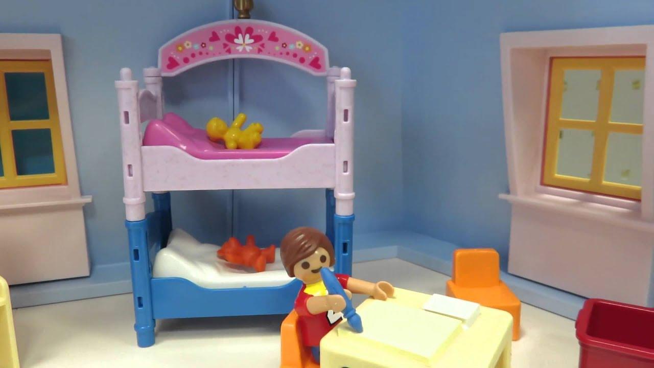 Das bunter kinderzimer 5306 von playmobil aufgebaut im for Kinderzimmer playmobil