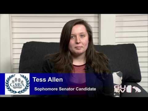 Tess Allen Sophomore Senator