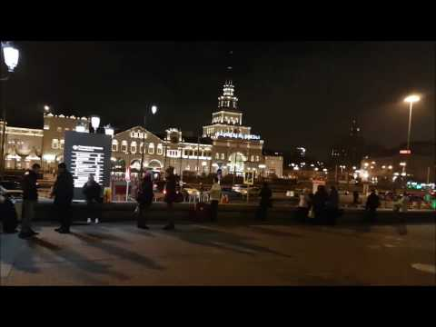 Ленинградский и Казанский вокзалы/Путешествие с ребенком/Москва Апрель 2017