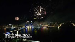 Jacksonville FL New Year 2018 Fireworks HD