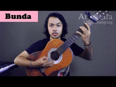 Chord Gampang (Bunda - Potret) By Arya Nara (Tutorial Gitar)