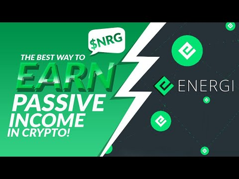 Earning  400,000 A MONTH?! Staking Cryptocurrency | Passive Income W/ Energi! $NRG