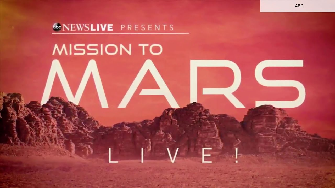 ABC News Live 'Mission to Mars Live!' special open Feb. 18, 2021