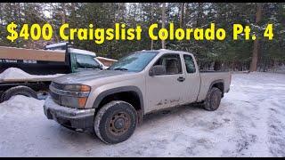 $400 Chevy Colorado Part 4: More Repairs!