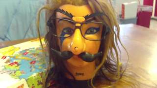 Debra with Groucho Marx Glasses
