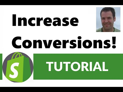 High Ticket Shopify Ecommerce - How To Increase Conversions Fast!