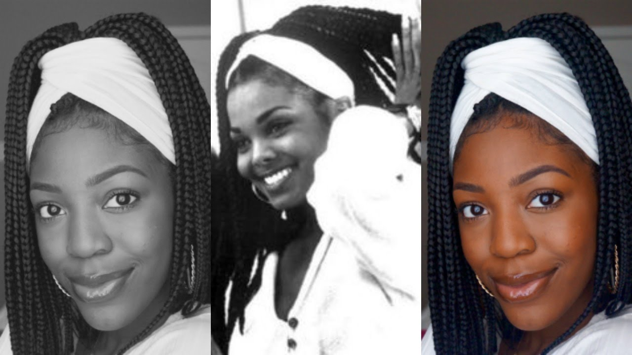 BASIC EVERYDAY MAKEUP/JANET JACKSON INSPIRED BOX BRAIDS ...