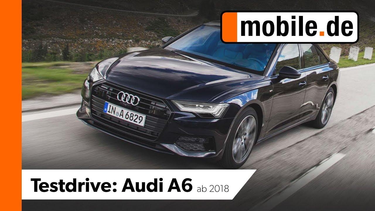 Audi A6 40 Tdi Quattro Mobilede Testdrive Youtube