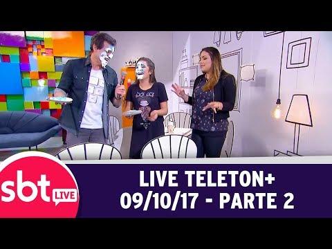 SBT Live Com Teleton+ (09/10/17) | Parte 2