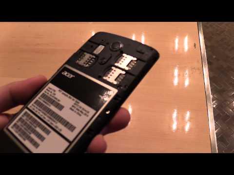 Acer Liquid E700 Smartphone mit Front-LED und 3fach SIM im Hands On Video