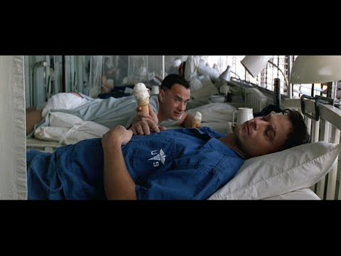 Forrest Gump (6/10) Best Movie Quote - Lieutenant Dan Ice Cream (1994)